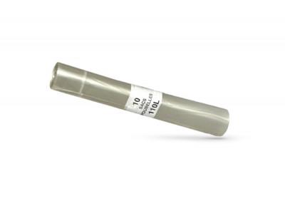 SAC POUBELLE TRANSPARENT 110L 70X108 CM - 43 MICRONS (200 U)