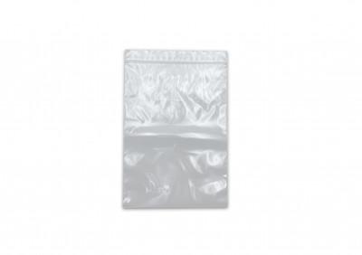 SACHET PLASTIQUE TRANSPARENT FERMETURE ZIP 100X150 MM 50 MICRONS (1000 U)