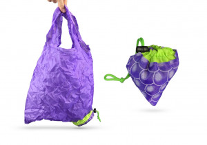 SHOPPING BAG MODELE RAISIN EN NYLON SPECIAL SAC A MAIN 37X55 CM (20 U)