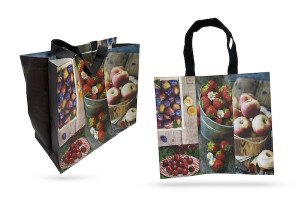 SAC CABAS GOUT DE FRUITS 40X20X35 CM (100 U)
