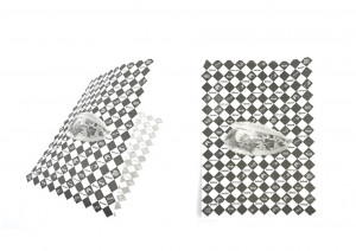 SACHET PAPIER KRAFT ANTIGRAS KEBAB/HAMBURGER 18X26 CM (1000 U)