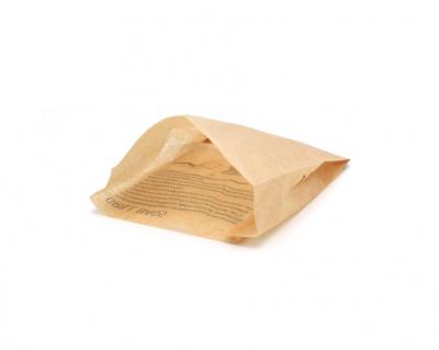 SAC SANDWICH CHAUD «GRILL BAG» NATUREL 41G/M2 17X4X20 CM (1000 U)