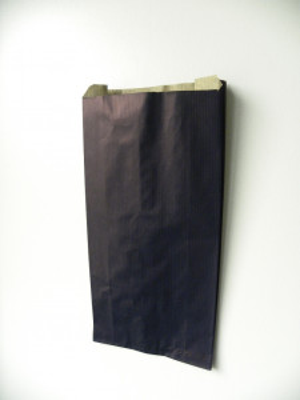 POCHETTE PAPIER CADEAU KRAFT BLEU MARINE 14+6X28 CM (100 U)