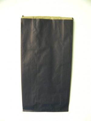 POCHETTE PAPIER CADEAU KRAFT BLEU MARINE 19+8X37 CM (100 U)