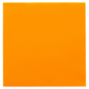 SERVIETTE AIRLAID LUXE ORANGE 40X40 CM 55 GRS (50 U)
