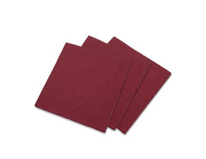 SERVIETTE GAUFREE BORDEAUX COCKTAIL 20X20 CM (100 U)