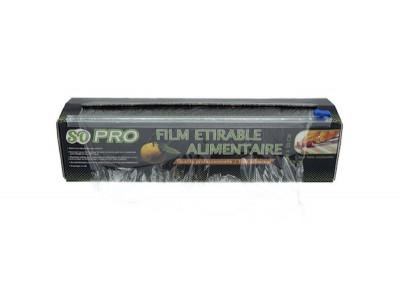 FILM ETIRABLE SOPRO 30CMX300M BOBINE BOITE DISTRIBUTRICE+CUTTERBOX 7.5MI (1 U)
