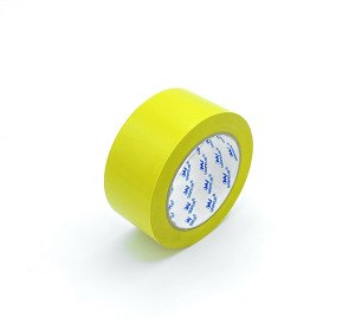 RUBAN ADHESIF PVC JAUNE MARQUAGE AU SOL EN BOBINE 50MM x 33M (1 U)