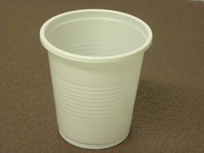 GOBELET BLANC PLASTIQUE 10 CL POUR BOISSON FROIDE (100 U)