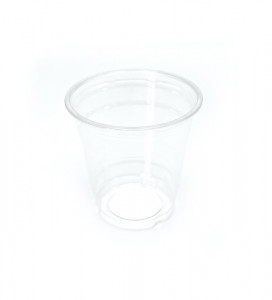 POT TRANSPARENT 11 OZ/33 CL BORD INCLINE PET (COUV. VENDU SEUL=C4D198-198B)(50U)