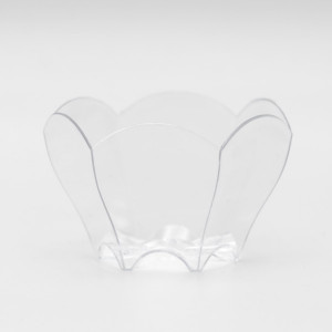 MIGNARDISE MINI COUPELLE PLASTIQUE RIGIDE TRANSPARENT 7 CL (24 U)