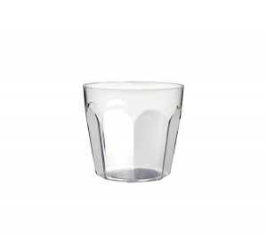 MIGNARDISE MINI VERRE 5 CL PLASTIQUE RIGIDE TRANSPARENT (50 U)