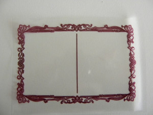 CELLO MILUNE TRANSPARENT LISERE MARRON 90X130 MM POUR MINI GÂTEAU (1000 U)