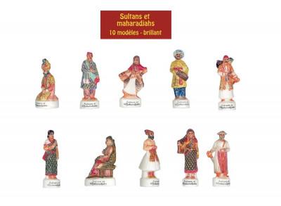FEVES SULTANTS ET MAHARADJAHS 3D (10 MODELES) (100 U)