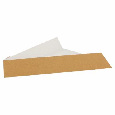 PELLE «FAST FOOD» TRIANGULAIRE MARRON PART PIZZA 21x16.5x3.5 CM (221.00) (200 U)
