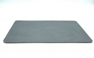 PLATEAU ARDOISE COULEUR ANTHRACITE RECTANGLE MODELE PIZZARA 35X25 CM (1 U)