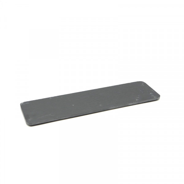 PLATEAU ARDOISE COULEUR ANTHRACITE RECTANGLE MODELE PIZZARA 35X10 CM (1 U)