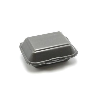 LUNCH BOX FOAM NOIRE 18.5X15.5X7 CM ( 125 U )