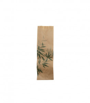 SACHET BRUN POUR SANDWICHS 7+4*22 FEEL GREEN (500 U)