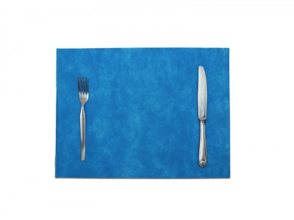 SET DE TABLE SPUNBOND TURQUOISE 30X40 CM (200 U)