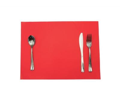SET DE TABLE TISS-LACK ROUGE 30X40 CM (500 U)