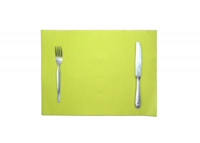 SET DE TABLE TISS-LACK KIWI 30X40 CM (500 U)