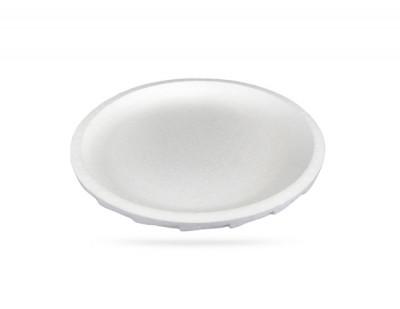 PLATEAU FRUITS DE MER BLANC ROND D.35 CM - POLYSTYRENE (30 U)