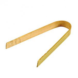 PINCE « CLAMP » BAMBOU NATUREL 8 CM (100 U)