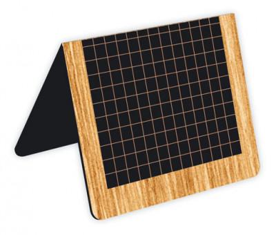 CHEVALET DE TABLE NOIR ÉCOLIER 6.5X4X5 CM (07111) (10 U)