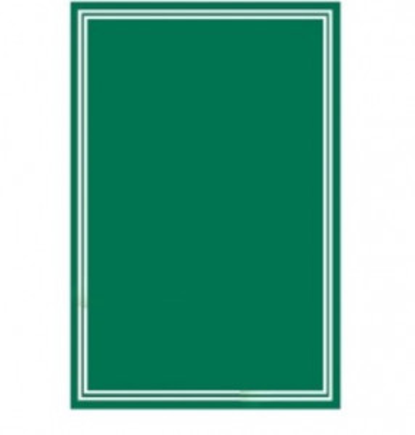ARDOISE VERTE 30X40 CM (15406) (1 U)