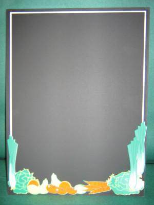 ARDOISE NOIRE PRIMEUR 22X30 CM (19456) (5 U)