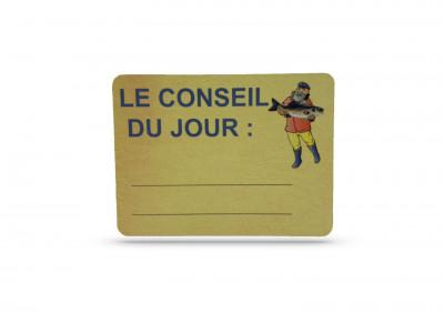 ETIQUETTE «CONSEIL DU JOUR» POISSONNERIE 150X200 MM (1 U)