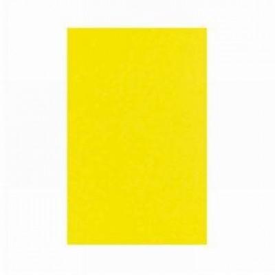ETIQUETTE PVC RECTANGULAIRE FLUO JAUNE 40X30 CM (228) (10 U)