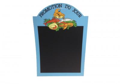 PANNEAU POISSONNERIE 60X40 CM «SUGGESTION DU JOUR» (4288) (1 U)