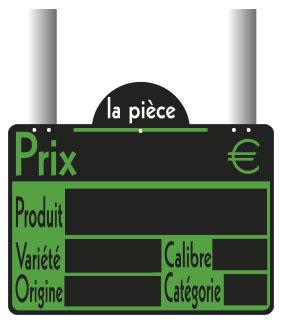 ETIQUETTE FRAICHEUR 20X15 CM GRANDES PATTES (1509) (10 U)