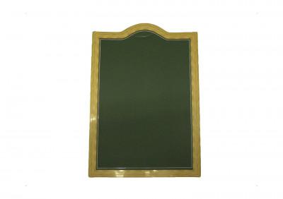 PANCARTE ARDOISINE VERT 65X45 CM (9956) (1 U)