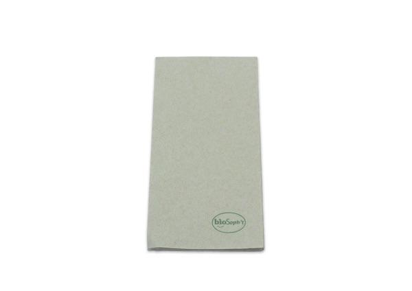 SERVIETTE ECOLOGIQUE DOUBLE POINT 2 PLIS 40X40 CM 1/8 GAMME BIOSOPH' (80 U)